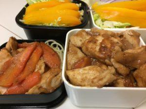 鶏むね肉の味噌炒め