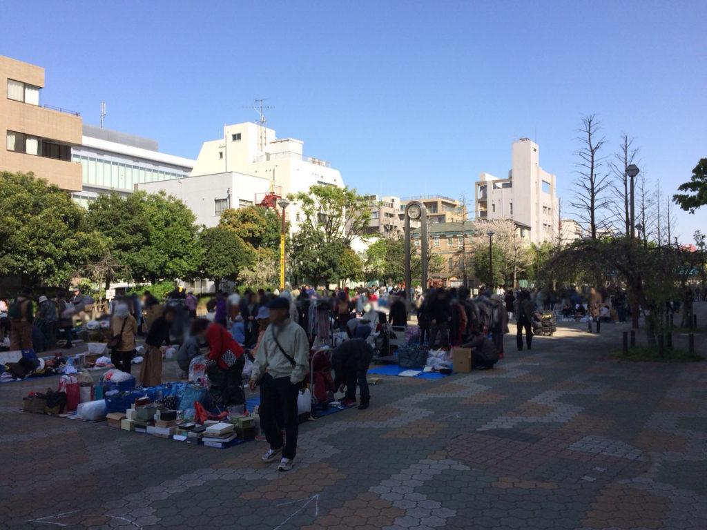 錦糸町大横川親水公園フリーマーケット