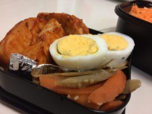 鶏ハムのケチャップ焼き