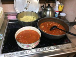 トマトスープスパ