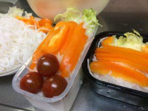 パプリカとミニトマトのサラダ