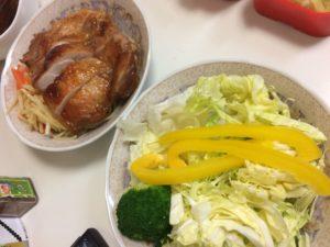 鶏もも肉のグリルチキン