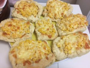チーズコーンパン